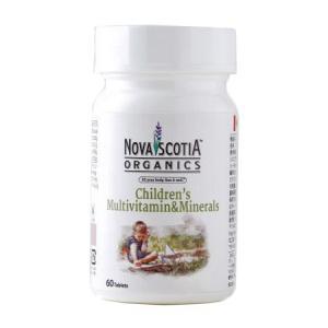 ノバスコシアオーガニックス マルチビタミン&ミネラル チルドレンケア 60粒  - ノバスコシア|healthy-good