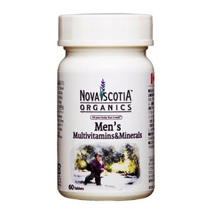 ノバスコシアオーガニックス マルチビタミン&ミネラル フォーメン 60粒  - ノバスコシア|healthy-good
