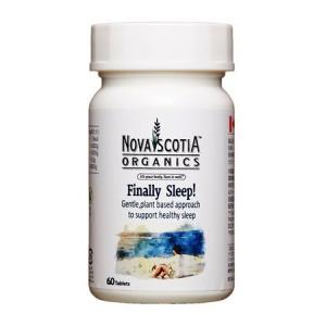 ノバスコシアオーガニックス ファイナリースリープ 60粒  - ノバスコシア|healthy-good