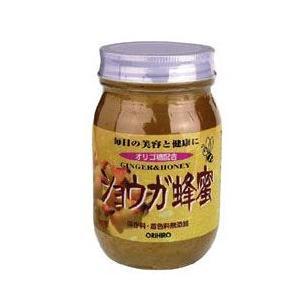 「オリヒロ ショウガ蜂蜜  580g」は、刻んだショウガと大根エキスはちみつに加えました。寒さが気に...