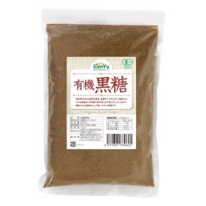 「有機黒糖 500g」は、有機JAS認定品の粉末黒糖です。黒糖特有のクセや雑味がなくまろやかな味わい...