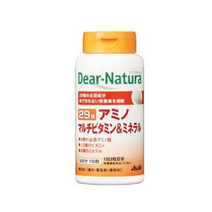 ディアナチュラ 29アミノ マルチビタミン&ミネラル 150粒  - アサヒフード&ヘルスケア|healthy-good