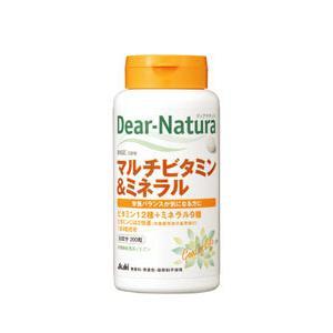 ディアナチュラ マルチビタミン&ミネラル 200粒  - アサヒフード&ヘルスケア|healthy-good