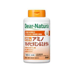 ディアナチュラ 29アミノ マルチビタミン&ミネラル 300粒  - アサヒフード&ヘルスケア|healthy-good