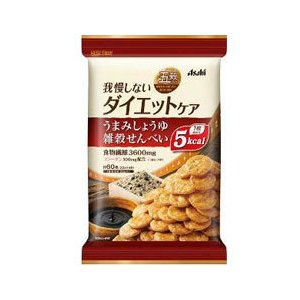 リセットボディ 雑穀せんべい   4袋  - アサヒフード&ヘルスケア|healthy-good
