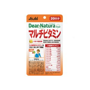 ディアナチュラスタイル マルチビタミン 20日分 20粒  - アサヒフード&ヘルスケア healthy-good