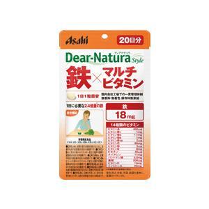 ディアナチュラスタイル 鉄×マルチビタミン 20日分 20粒  - アサヒフード&ヘルスケア|healthy-good