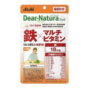 ディアナチュラ 鉄×マルチビタミン 60粒  - アサヒフード&ヘルスケア healthy-good
