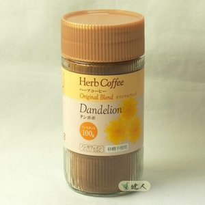 生活の木 ハーブコーヒー タンポポ インスタント オリジナルブレンド 100g  - 生活の木|healthy-good