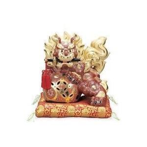 九谷焼 剣獅子 10号 盛 AP2-1786|healthy-living