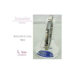 MARE(マーレ) ゲルマニウムブレスレット PT/IP ミラー/マット 173L (19.85cm) H9392-01|healthy-living
