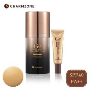 韓国コスメ チャームゾーン GeナチュラルスキンエードミネラルBBクリーム 50g(携帯用10g付き) SPF40・PA++|healthy-living