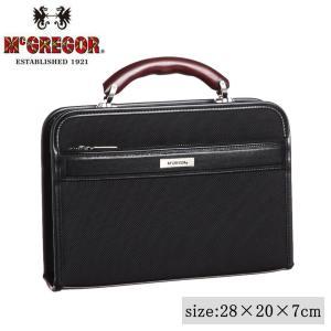 日本製 ビジネスバッグ McGREGOR(マックレガー) ダレスバッグ 21956 ブラック|healthy-living