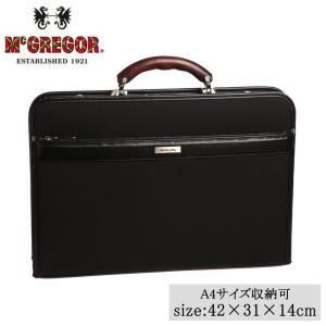 日本製 A4サイズ収納可 ビジネスバッグ McGREGOR(マックレガー) ダレスバッグ 21958 ブラック|healthy-living