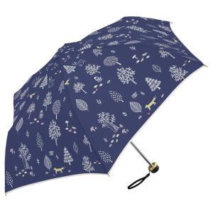 moimoi ミニ 55cm 折りたたみ傘 超軽量 MK495500 ネイビー|healthy-living