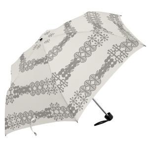 ノルディック ミニ 55cm 折りたたみ傘 超軽量 MK496300 オフホワイト|healthy-living