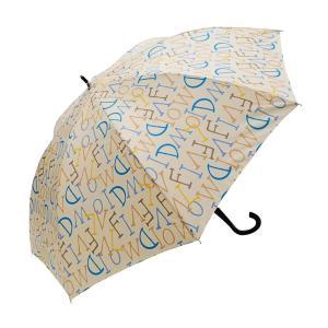 VIVID-FLOW 耐風設計UMBRELLA 長傘 60cm ロゴ A60-1801 イエロー|healthy-living
