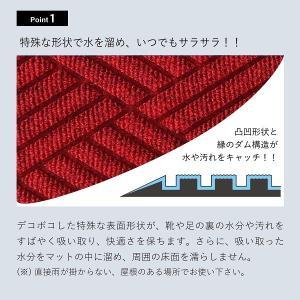 クリーンテックス ウォーターホースT(ダイヤモンド) 88×114 ライト・グレー|healthy-living|02