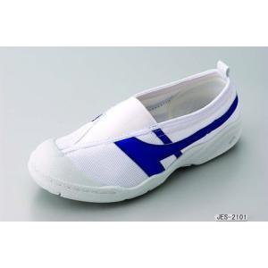 健康上履きJES 2101(甲ゴムタイプ) 靴底に通気穴のある特許構造!14センチ〜29センチ・青・赤・黄・緑・白の5色