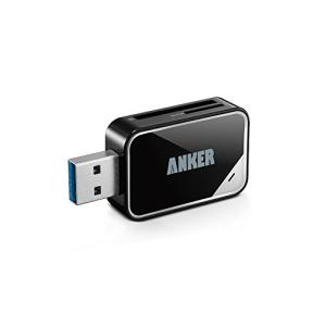 Anker〓 USB 3.0 SD/TFカードリーダー SD-XC、SD、MMC、RS-MMC、SD-HC、Micro SD、Mini SDに対応 【18ヶ月保証】|healthysmile