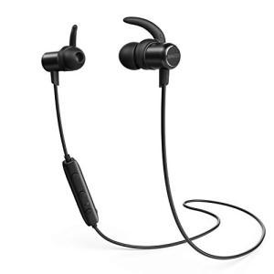 Anker SoundBuds Slim Bluetoothイヤホン(カナル型)【マグネット機能 /...