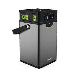 iMuto M10 ポータブル電源 372Wh/100500mAh 大容量 モバイルバッテリー US...