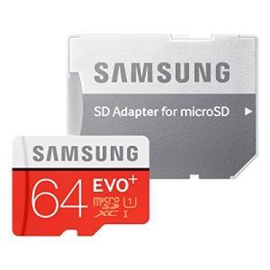 Samsung microSDXCカード 64GB EVO+ Class10 UHS-I対応 (最大読出速度80MB/s:最大書込速度20MB/s) Nintendo Switch 動作確認済 MB-MC64DA/FFP|healthysmile