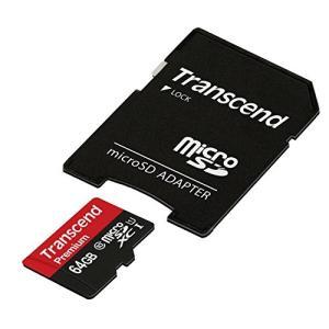 Transcend microSDXCカード 64GB Class10 UHS-I対応 無期限保証 Nintendo Switch 動作確認済 TS64GUSDU1PE (FFP)|healthysmile