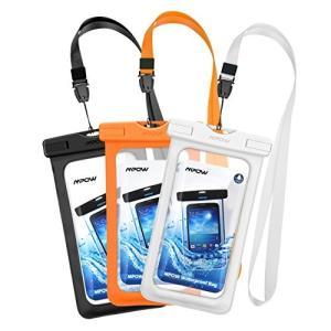 Mpow 防水ケース 3セット 携帯ケース スマホ防水ケース ダイビングバッグ  IPX8合格 iP...