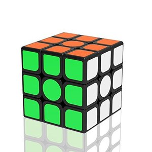 Newislandスピードキューブ ver.2.0 ステッカー立体パズル 競技専用 ポップ防止 回転スムーズ 世界基準配色 6面完成攻略書(LBL法)付属 57x57x57mm|healthysmile