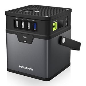 (アップグレード版)ポータブル電源 Poweradd ChargerCenter 185Wh/500...
