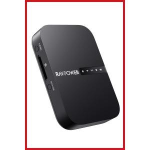 RAVPower Wi-Fi SDカードリーダー ワイヤレス共有/高速データ転送/ワンキーバックアッ...