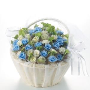 ブルー&ホワイトのさわやかな花に心を込めて清楚な気持ちを伝えます。 結婚式・披露宴・ウェディングパー...