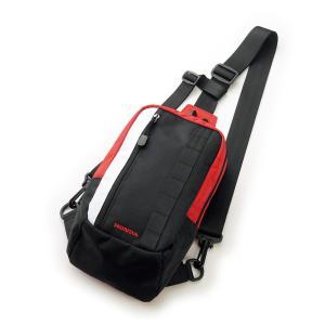 新デザインのワンショルダーバッグ。 近場のツーリングや街乗りにも使える優れもの。  ●ライディング時...