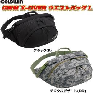 GOLDWIN(ゴールドウィン)GWM X-OVERウエストバッグL GSM27013 (バイク用)|heart-netshop