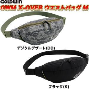 GOLDWIN(ゴールドウィン)GWM X-OVERウエストバッグM GSM27014 (バイク用)|heart-netshop