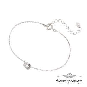送料無料 シルバー ブレスレット ハートオブコンセプト プレゼント 誕生日 HCB-100WH|heart-of-concept