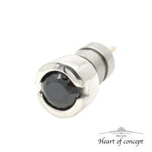 シルバー ピアス ハートオブコンセプト プレゼント 誕生日 HCE-26BKCZ heart-of-concept