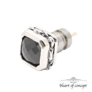 シルバー ピアス ハートオブコンセプト プレゼント 誕生日 HCE-50BKCZ|heart-of-concept