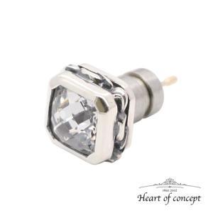 シルバー ピアス ハートオブコンセプト プレゼント 誕生日 HCE-50CZ|heart-of-concept