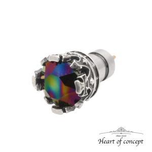 シルバー ピアス ハートオブコンセプト プレゼント 誕生日 HCE-51RD heart-of-concept