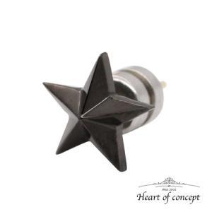 送料無料 シルバー ピアス ハートオブコンセプト プレゼント 誕生日 HCE-56BK|heart-of-concept