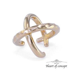 送料無料 シルバー イヤーカフ ハートオブコンセプト プレゼント 誕生日 HCE-64YL|heart-of-concept