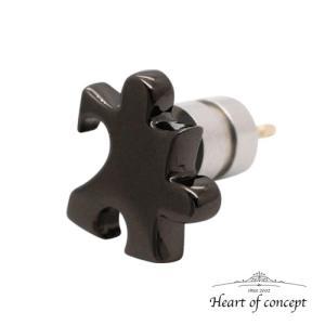 送料無料 シルバー ピアス ハートオブコンセプト プレゼント 誕生日 HCE-65BK|heart-of-concept