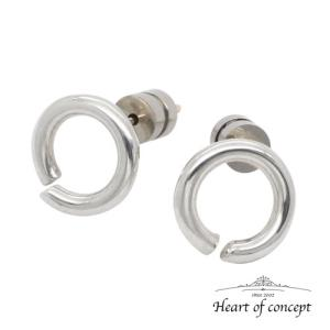 送料無料 シルバー ペアピアス シェアピアス ハートオブコンセプト プレゼント 誕生日 HCE-67PAIR|heart-of-concept