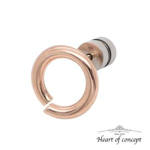 送料無料 シルバー ピアス ハートオブコンセプト プレゼント 誕生日 HCE-67PK heart-of-concept