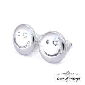 送料無料 シルバー ペアピアス ハートオブコンセプト プレゼント 誕生日 HCE-74PAIR heart-of-concept
