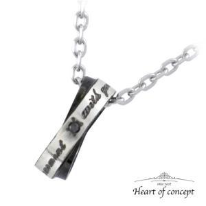 送料無料 シルバー ネックレス ペンダント ハートオブコンセプト プレゼント 誕生日 HCP-333BK|heart-of-concept