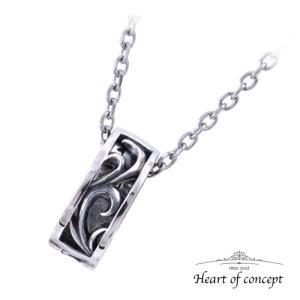 送料無料 シルバー ネックレス ペンダント ハートオブコンセプト プレゼント 誕生日 HCP-381 heart-of-concept