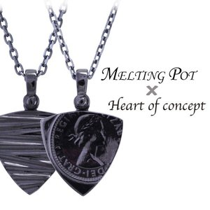 送料無料 シルバー ネックレス ペンダント ハートオブコンセプト プレゼント 誕生日 HMP-1BK|heart-of-concept